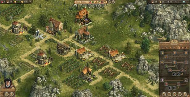 Test RTS Anno Online