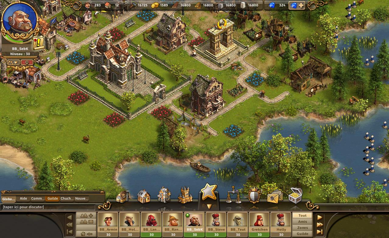 The Settlers Online jouer au jeu The Settlers Online
